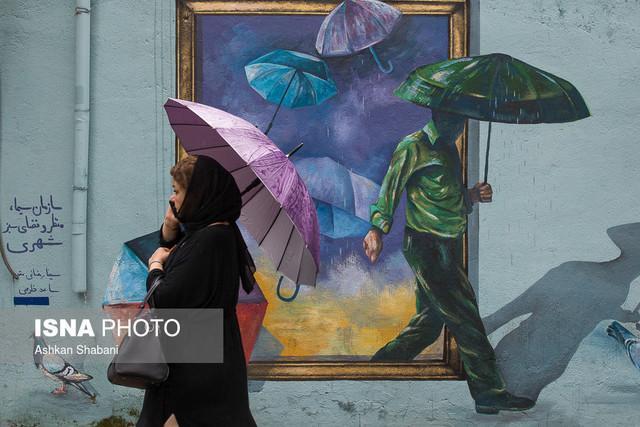 بارش شدید باران در 8 استان