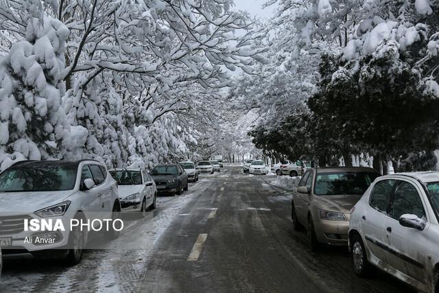 وضعیت بارش باران و برف در کشور طی روزهای آینده